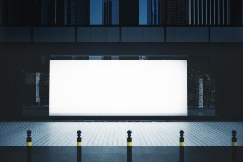 Produkcja gablot z ruchomą reklamą