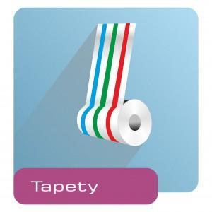 ikona - rolka kolorowej tapety